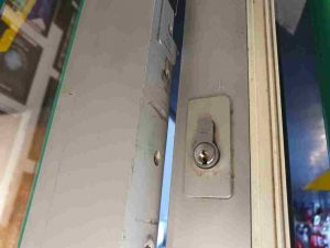 door lock unlocked door
